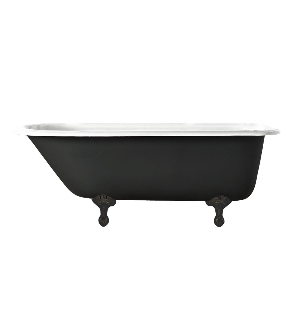 5 Clawfoot Tub With Black Exterior Rejuvenation