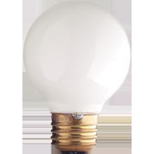 G19 40W White Globe Bulb