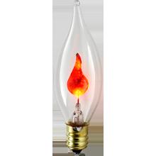 3W Flicker Candelabra Bulb
