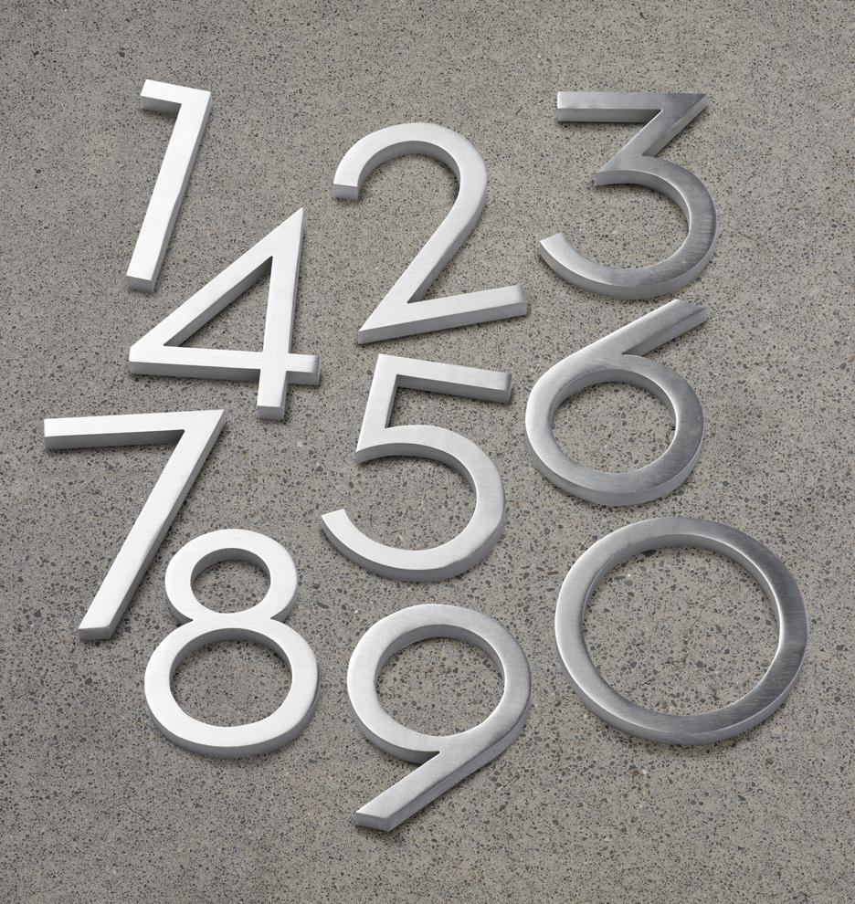 4 modern house numbers rejuvenation