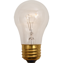 40W A15 Clear Bulb