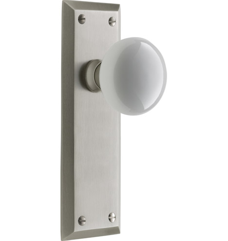 Putman white porcelain knob interior door set rejuvenation - Interior door handles and hinges ...
