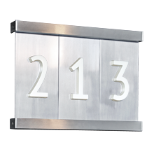 Aluminum Tile House Numbers