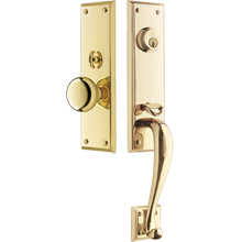 Peterson Exterior Mortise Door Set