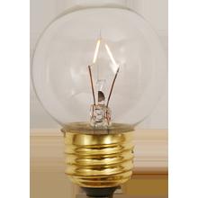 G15 60W Clear Globe Bulb