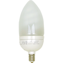 9W B Candelabra CF Bulb