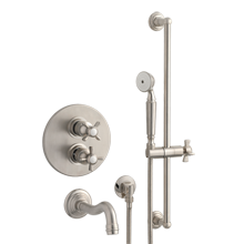 Connor Thermostatic Tub Shower Set With Handheld