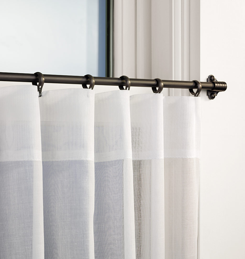 Z010730 Cafe Curtain Outside Mount Med ...  Curtain Rod Rings
