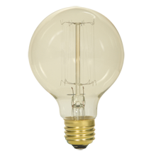 40W G25 Vintage Cage-Style Filament Bulb