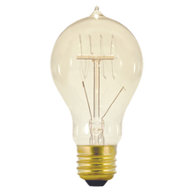 40W Standard-Base Vintage Quad-Loop Filament Bulb