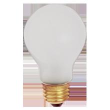 60W Shatterproof A19 Standard-Base Bulb - 2-Pack
