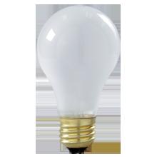 100W Shatterproof A19 Bulb - 2-Pack