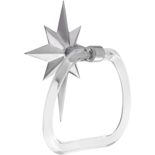 Perry Towel Ring with Star Plate