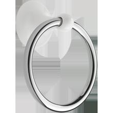 Dunbar Towel Ring - White