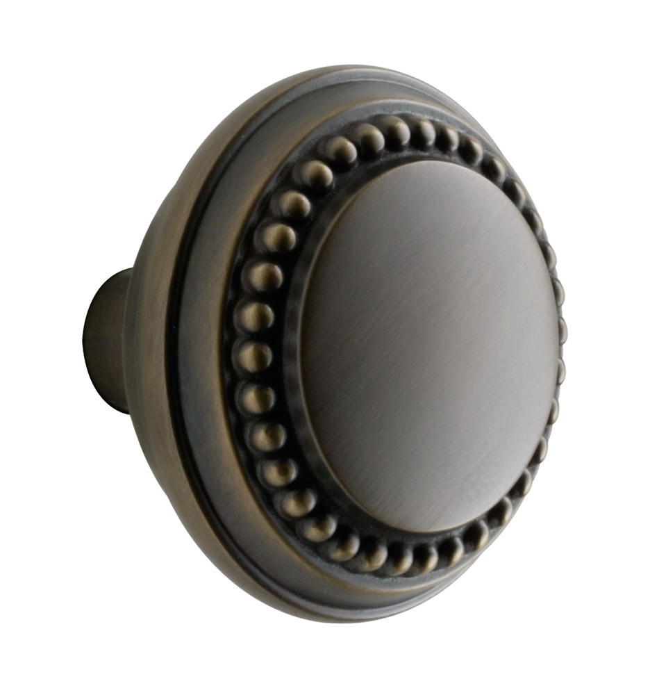 Beaded Round Door Knob Rejuvenation