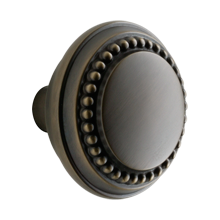 Beaded Round Knob