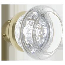 Round Crystal Knob