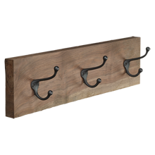 Walnut Hook Rack