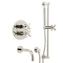Waterhouse Thermostatic Shower Tub Set with Handheld