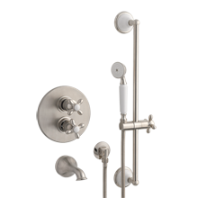 Dunbar Thermostatic Tub Shower Set With Handheld