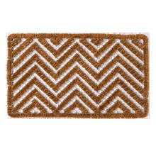 Chevron Wire & Brush Doormat