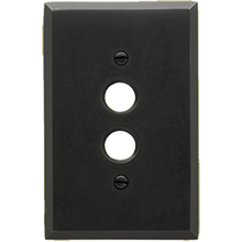 Lewis Push-Button Switchplate