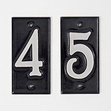 carly quinn designs house numbers - Decorative House Numbers