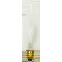 25W Flame-tip Candelabra