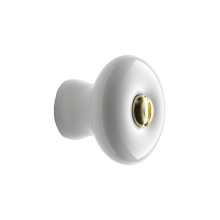1in. Porcelain Knob