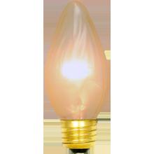 25W Gold Flame Bulb