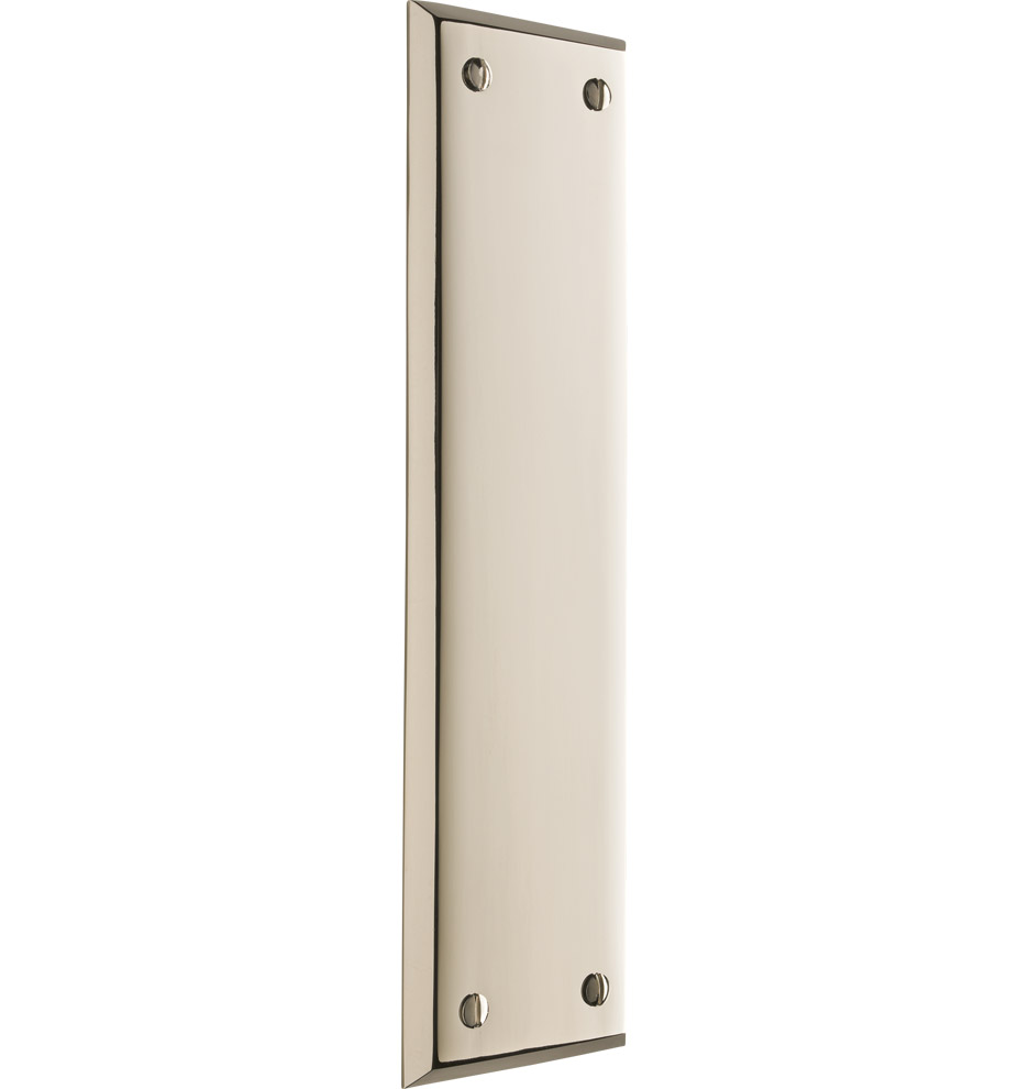 Putman classic push plate rejuvenation for Door push plates