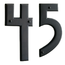 Mission House Numbers