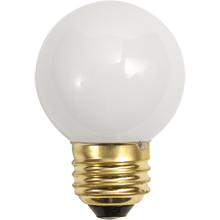 40W Small White Globe