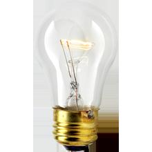 25W A15 Clear Bulb
