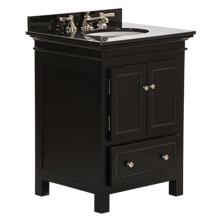 Sellwood Powder Sink Console - Black