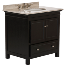 Sellwood Single Sink Console - Black