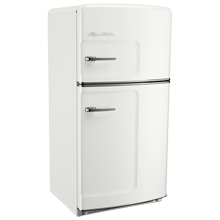 Original Refrigerator with Ice Maker, Left- Opening - White