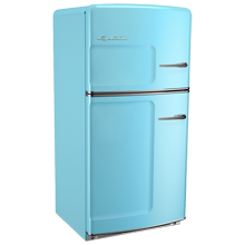 Original Refrigerator with Ice Maker, Right- Opening - Blue