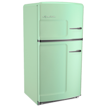 Original Refrigerator with Ice Maker, Right- Opening - Green