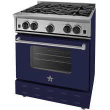 Freestanding Natural-Gas Range - 30 in