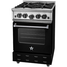 Freestanding Natural-Gas Range - 24 in