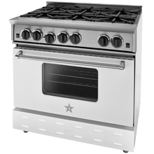 Freestanding Natural-Gas Range - 36 in