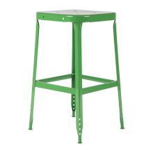 Aurora Industrial Stool - Grasshopper