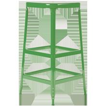 Aurora Industrial Stool - Grasshopper