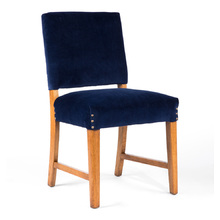 Indigo Velvet Chair
