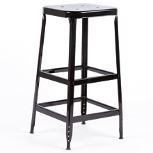 Aurora Industrial Bar Stool