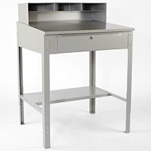 Aurora Industrial Shop Desk