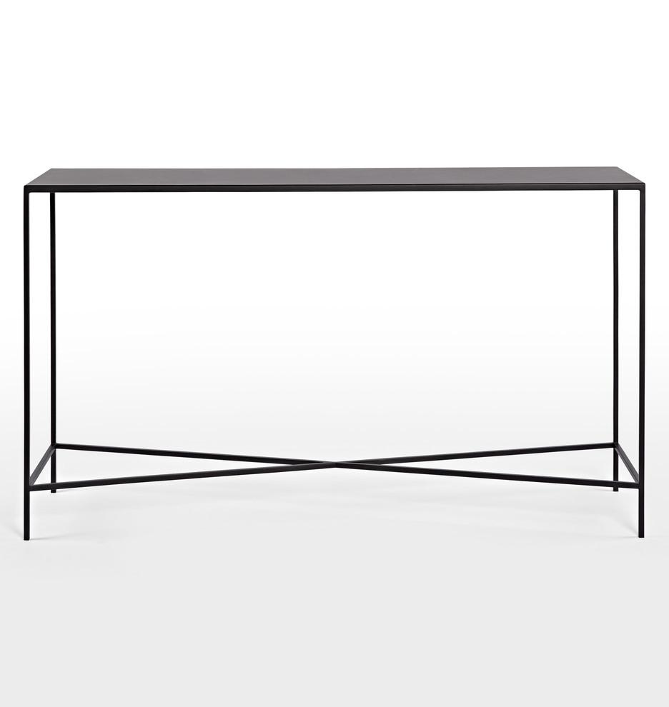 metal burton console table  rejuvenation -