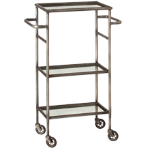 Iron and Mirror Cart