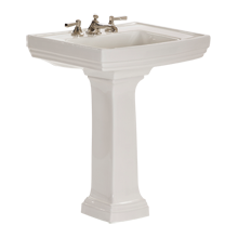 Stepped Pedestal Sink